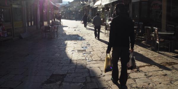 Guille einkaufen Skopje
