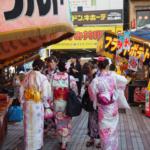 Kimonos in Hiroshima Fest