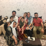 Iranische Familie Marivan