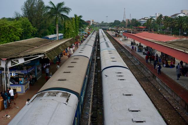 Züge_Südindien