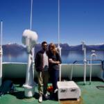 Sonniger Tag an Deck Patagonien