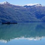 Chile altes Schiff Fjorde