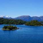 Fjorde in Chile