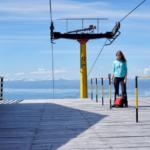 Ushuaia Skipiste im Sommer