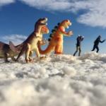 Dinosaurier Salar de Uyuni