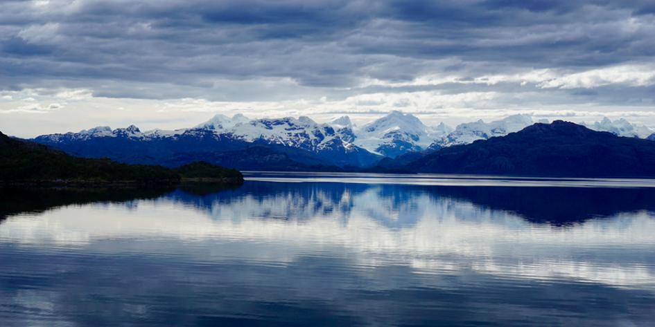 Fjorde Patagonien